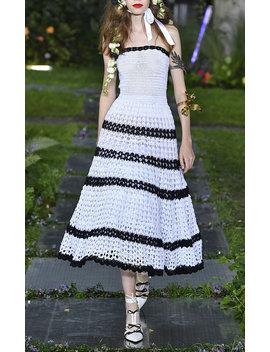 Hand Crocheted Striped Dress by Rodarte