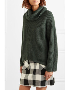 Ana Ribbed Knit Turtleneck Sweater by J.Crew