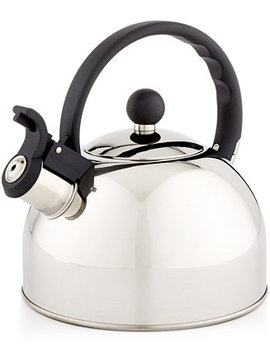 1.5 Qt. Stainless Steel Tea Kettle, Created For Macy's by Martha Stewart Essentials