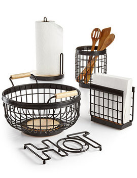 Wire Kitchen Accessories, Created For Macy's by Martha Stewart Collection