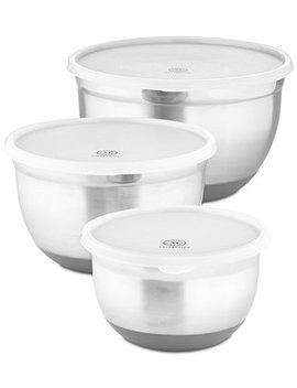 6 Pc. Non Skid Bowls & Lids Set, Created For Macy's by Martha Stewart Collection