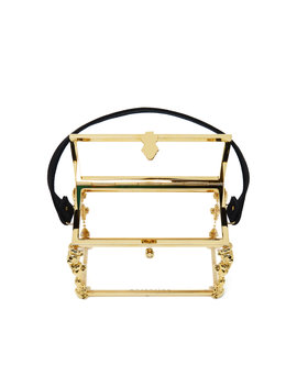 Emmeline Lucite Bag With 3 Pouches by Markarian