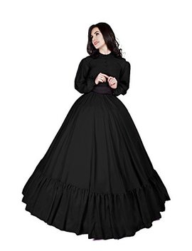 Civil War Reenactment Victorian Garibaldi 3 Piece Dress by Reminisce