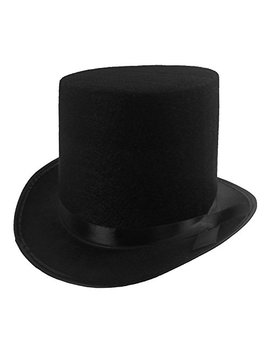 Funny Party Hats Black Felt Top Costume Hat (Black   1 Pack) by Funny+Party+Hats