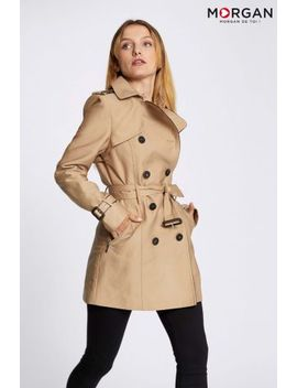 Morgan Double Breasted Trench Coat by Next
