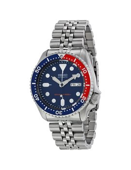 Seiko Skx009 K2,Men's Automatic Diver,Self Winding,Stainless Steel Case And Bracelet,Screw Crown,200m Wr,Skx009 by Seiko