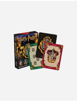 harry-potter-house-crests-playing-cards by tillys