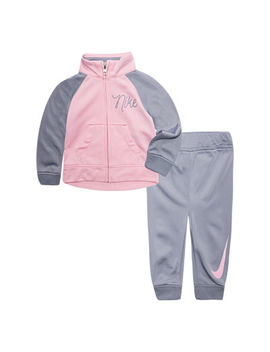 Nike F18 Infant Sets 2 Pc. Logo Pant Set Baby Girls by Nike