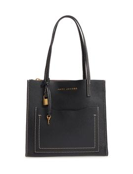 The Grind Medium Leather Tote by Marc Jacobs