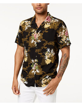 Men's Floral Shirt by Guess