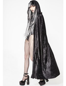 Practical Magick Velvet Cape by Rubies Costume Co Inc
