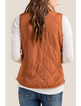 Hadley Wubby Reversible Puffer Vest by Francesca's