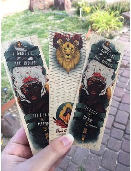 Children On Blood And Bone Wooden Bookmark by Etsy