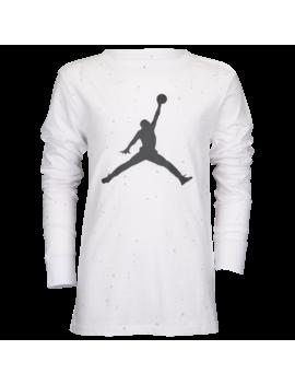 Jordan Speckle Long Sleeve T Shirt by Foot Locker