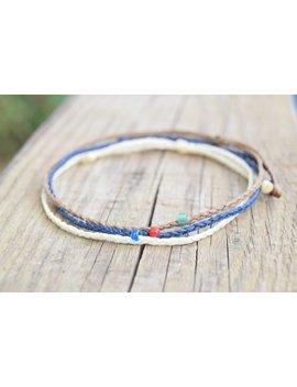 Waxed String Ultra Slim Mens Bracelet Mens String Bracelets Mens Friendship Bracelets Set Extra Thin by Etsy