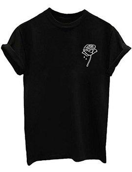 Blackoo Women Cute T Shirt Juniors Graphic Tops by Blackoo