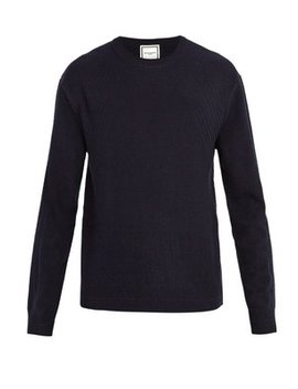 Cashmere Crew Neck Sweater by Wooyoungmi