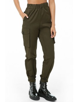 Button Strap Utility Pants by Forever 21