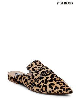 Steve Madden Leopard Wind Stud Loafer Mule by Next