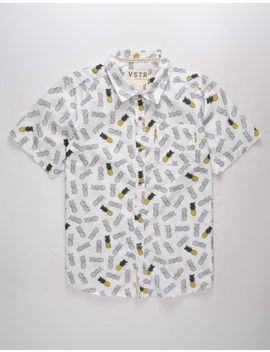 Vstr Pineapple Boys Shirt by Visitor