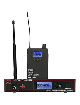 Galaxy Audio As 1100   120 Channel Selectable Wireless Personal Monitor by Galaxy