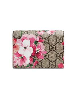 Gucci Gg Blooms Card Casehome Women Gucci Accessories Wallets & Purses by Gucci