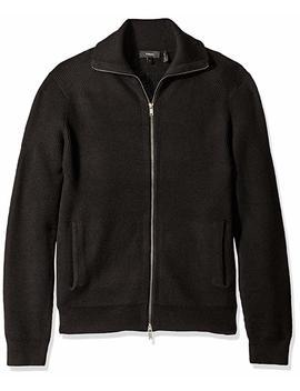 Theory Men's Ronzons Cashwool Full Zip Cardigan Sweater by Theory