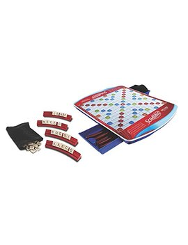 Hasbro Scrabble Deluxe Edition Board Game, Ages 8 And Up (Amazon Exclusive) by Hasbro