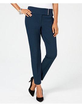 Wide Waistband Skinny Pants, Created For Macy's by Alfani