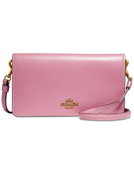 Smooth Leather Slim Phone Crossbody by Coach