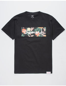 Diamond Supply Co. Og Floral Box Mens T Shirt by Diamond Supply Co.