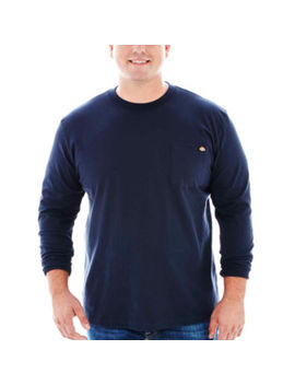 Dickies® Heavyweight Long Sleeve Pocket Tee–Big & Tall by Dickies
