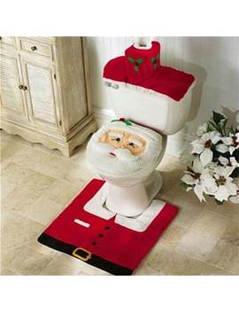"<P>Ws0050 Merry Christmas Happy New Year Best Christmas Gift Decorations Bathroom Toilet Seat Carpet</P><I Class=""Icon Down Js Tap Up Down""></I> by Dress Lily"