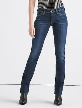 Sweet Mid Rise Straight Jean by Lucky Brand