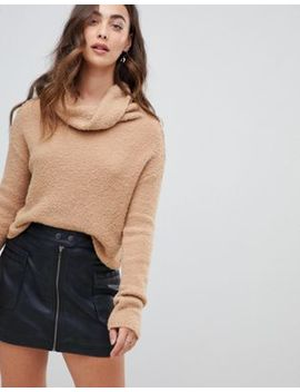 Free People Stormy Roll Neck Sweater by Free People