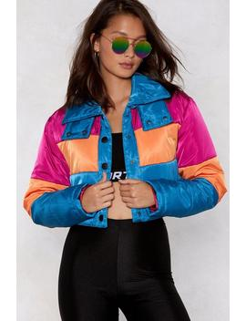 I'm Not Like A Regular Mom Padded Jacket by Nasty Gal