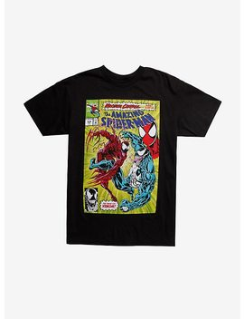 Marvel Spider Man Venom Maximum Carnage Cover T Shirt by Hot Topic