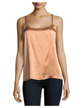 Silk Camisole Top by Neiman Marcus