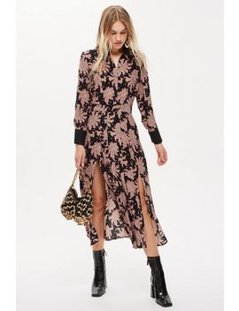 Paisley Shirt Dress by Topshop