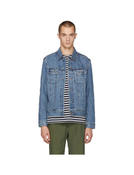 Blue Us Denim Jacket by A.P.C.