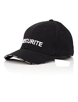 Securite Baseball Cap by Vetements