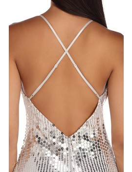 Sequin Sensation Mini Dress by Windsor