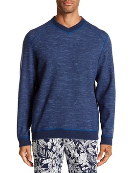 Flipsider V Neck Pullover by Tommy Bahama