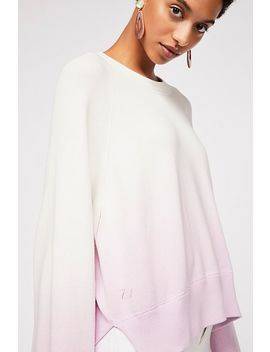 Lea Cop Dip Dye Pullover by Free People