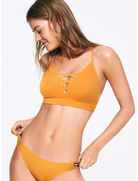 Weekender Seamless Strappy Front Plunge by Victoria's Secret