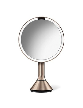 Simplehuman® 5 X Sensor Brightness Control 8 Inch Mirror In White by Bed Bath And Beyond