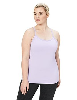 Core 10 Women's Yoga Fitted Support Tank (Xs Xl, Plus Size 1 X 3 X) by Core+10