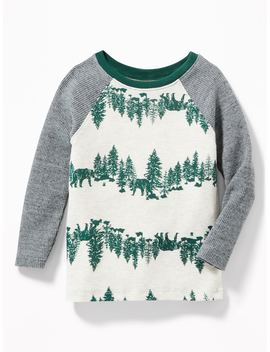 Thermal Raglan Tee For Toddler Boys by Old Navy