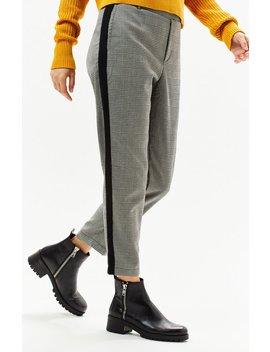 Ps / La Plaid Side Stripe Pants by Pacsun