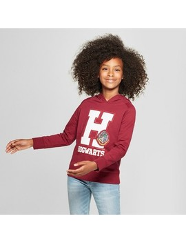 Girls' Harry Potter Hogwarts Hoodie   Burgundy by Harry Potter